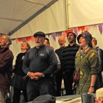 Stephen Wolfenden - singing in The Cobbold Arms